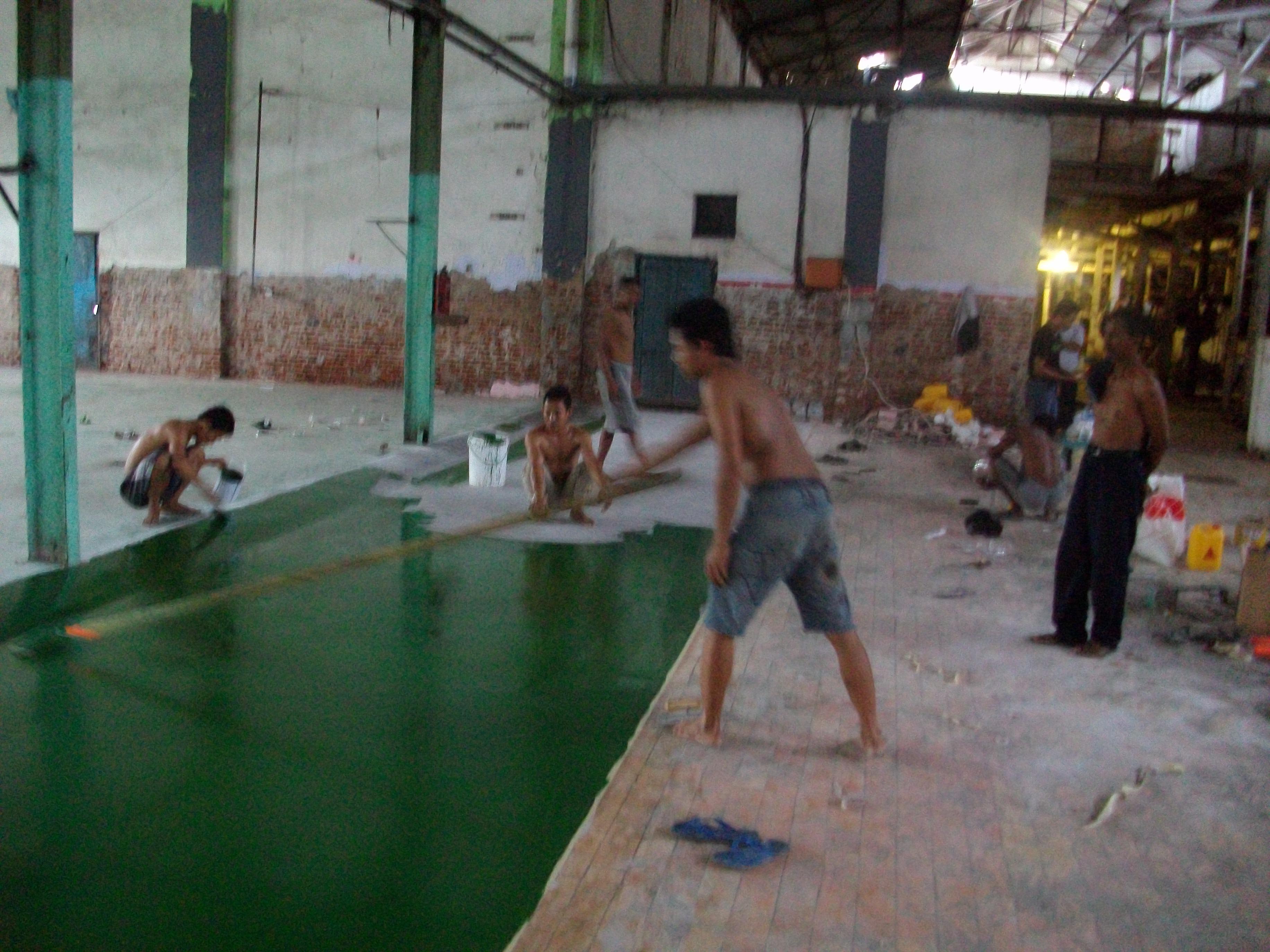 Jasa Floor Hardener Trowel Waterproofing Bakar Epoxy